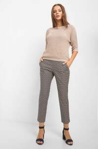Elegante Hose mit Muster