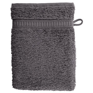 Waschhandschuh KRONBORG® de Luxe (16x21, anthrazit)