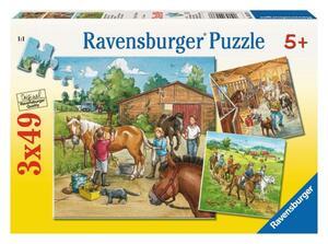 Ravensburger Puzzle Mein Reiterhof