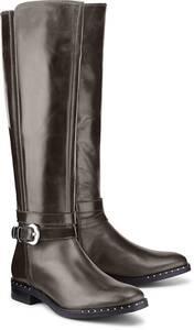Trend-Stiefel von Drievholt in braun für Damen. Gr. 38,39,40