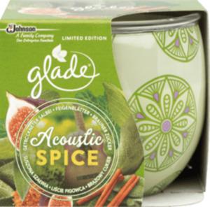 Glade Duftkerze Acoustic Spice
