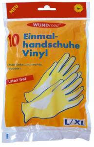 Einmal-Handschuhe, Vinyl, 10 Stück WUNDmed