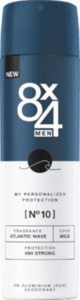 8x4 men Deospray No.10 Atlantic Wave