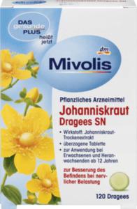 Mivolis Johanniskraut Dragees SN
