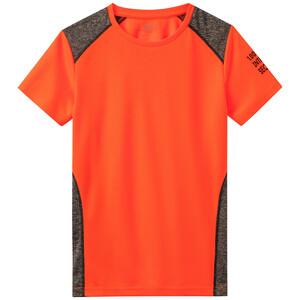 Jungen Sport-T-Shirt mit melierten Einsätzen