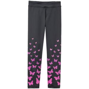 Mädchen Sport-Leggings mit Schmetterlingen