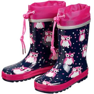Mädchen Regenstiefel mit Eulen allover