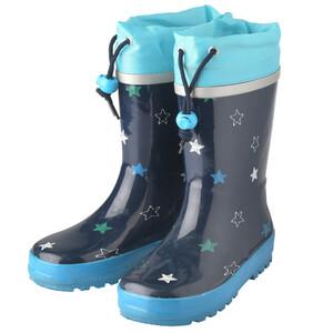 Baby Regenstiefel mit Sternen allover