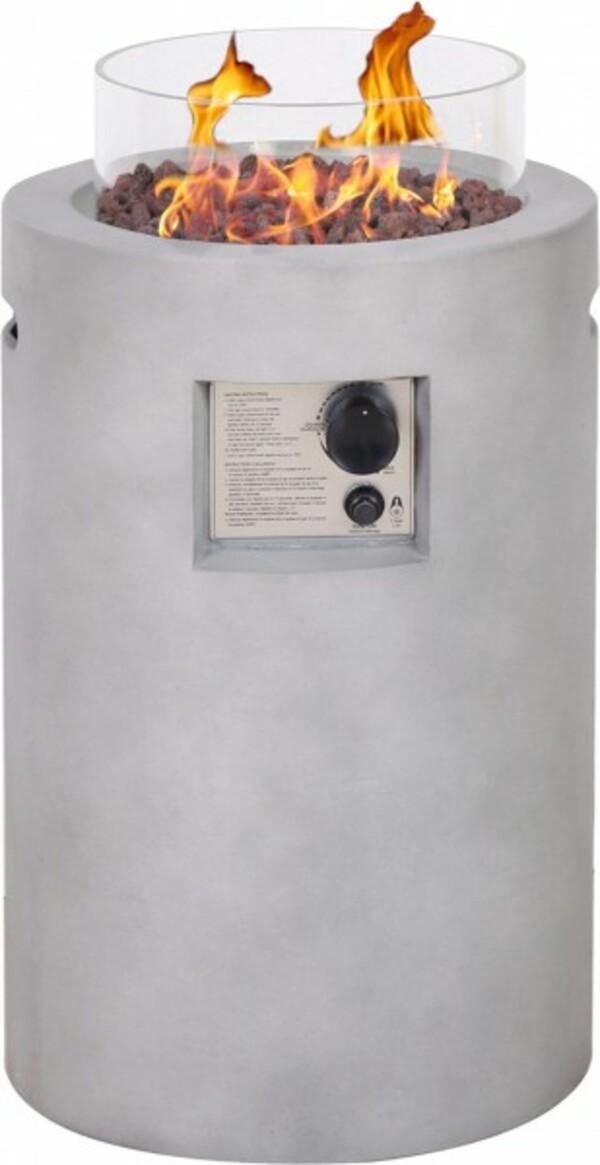 Primaster Gas-Feuerstelle Drum ,  Ø 41 cm