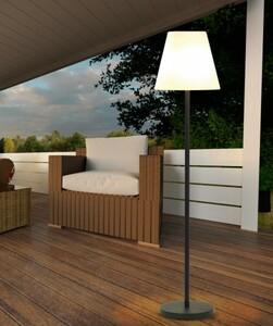 EASYmaxx Solar-Standleuchte Out-& Indoor ,  32 LED, warmweiß
