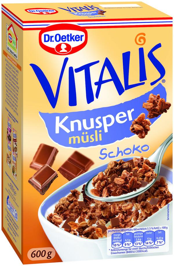 Dr.Oetker Vitalis Knusper Müsli Schoko 600 g