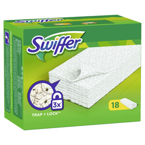 Swiffer trockene Wischtücher Anti-Staub 18 Tücher