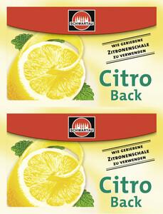 Schwartau Citro Back 2x 5 g