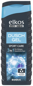 elkos For Men Duschgel Sport Care 3in1 300 ml