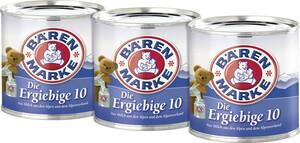 Bärenmarke Kondensmilch die Ergiebige 10 % Fett 3x 170 g