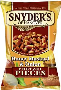 Snyders of Hanover Pretzel Pieces Honey Mustard & Onion 125 g