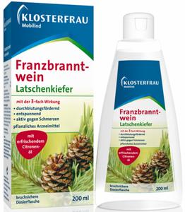 Klosterfrau Franzbranntwein Latschenkiefer 200 ml