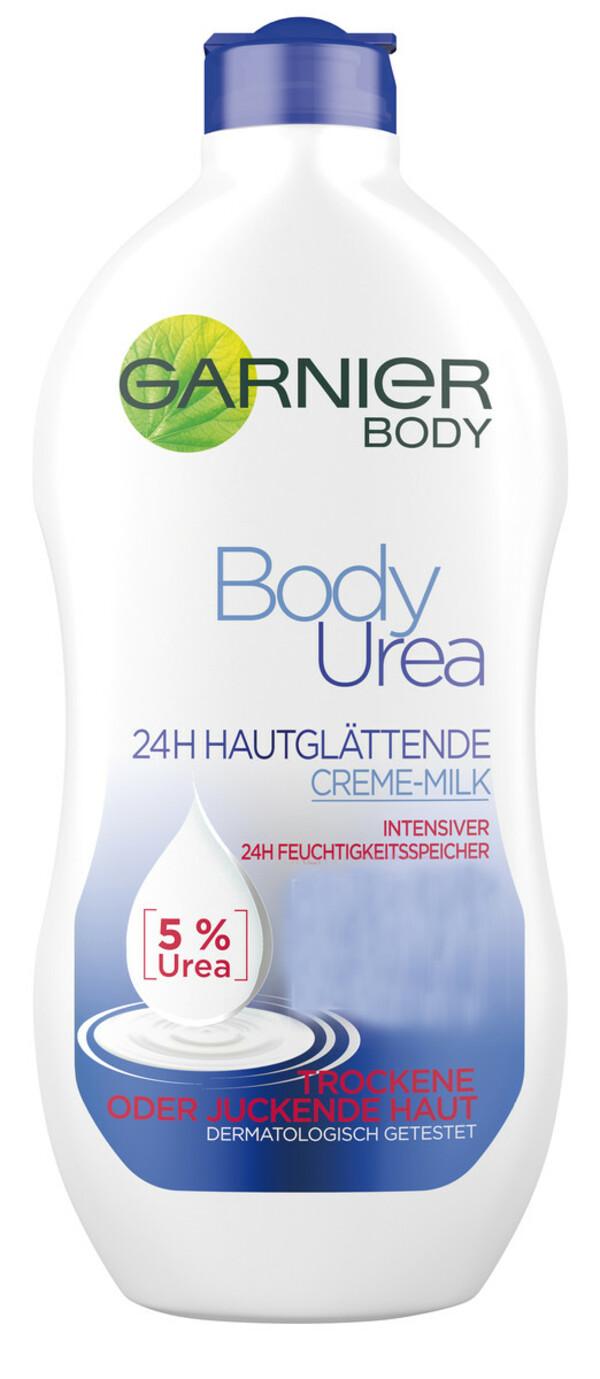 Garnier Body Urea 24H Intensiv hautglättende Creme-Milk 400 ml