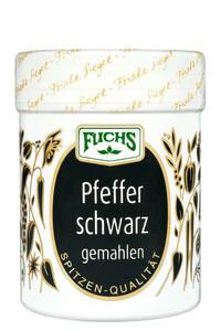 Fuchs Pfeffer schwarz gemahlen 60 g