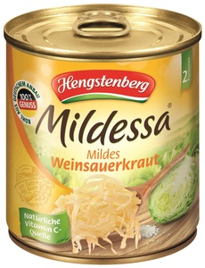 Hengstenberg Mildessa Mildes Weinsauerkraut 300 g