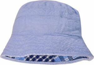 Wende-Hut blau Gr. 51 Jungen Kleinkinder