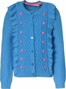 Strickjacke blau Gr. 98 Mädchen Kleinkinder