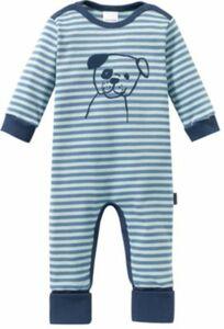 Baby Schlafanzug blau Gr. 56 Jungen Baby