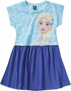 Disney Die Eiskönigin Kinder Kleid hellblau Gr. 140/146 Mädchen Kinder