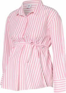 MLFLORA LS WOVEN SHIRT A. - Umstandsblusen - weiblich rosa/weiß Gr. 38 Damen Kinder