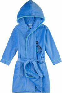 Bademantel blau Gr. 104 Jungen Kleinkinder