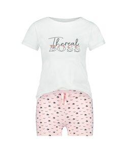 Hunkemöller Pyjamaset Kids Weiß