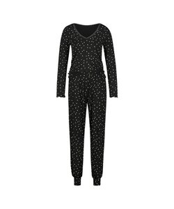Hunkemöller Pyjamaset Schwarz