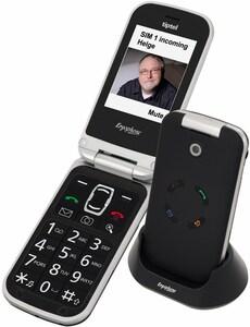Tiptel Ergophone 6120 Seniorenhandy schwarz