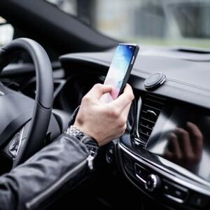 Hama Universal Smartphone Halter Magnet ,  KFZ Mobiltelefon Halterung, passiv, schwarz