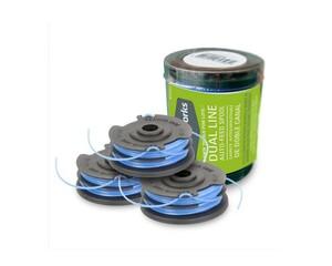 Greenworks Ersatzspule 3er Set für Greenworks Elektro-Trimmer 500 Watt |  B-Ware - der Artikel ist neu - Verpackung beschädigt
