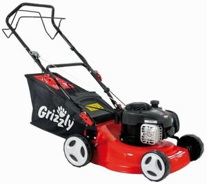 Grizzly Benzin-Rasenmäher BRM 42-125 BSA mit Radantrieb | B-Ware - der Artikel ist neu und unbenutzt - Verpackung beschädigt