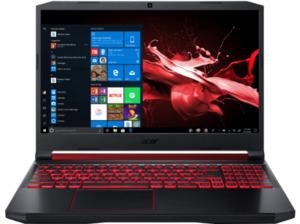ACER Nitro 5 (AN515-54-56R0), Gaming Notebook mit 15.6 Zoll Display, Core™ i5 Prozessor, 8 GB RAM, 256 GB SSD, 1 TB HDD, GeForce® GTX 1650, Schwarz/ Rot