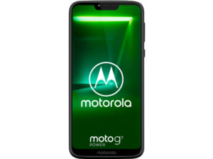 MOTOROLA Moto G7 Power, Smartphone, 64 GB, Ceramic Black, Dual SIM