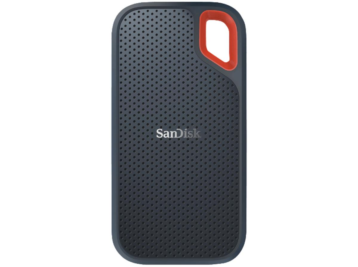 Bild 1 von SANDISK Extreme® Portable, 1 TB, 2.5 Zoll, Festplatte, Grau/Rot