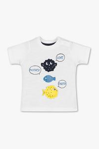 Baby Club         Baby-Kurzarmshirt - Bio-Baumwolle