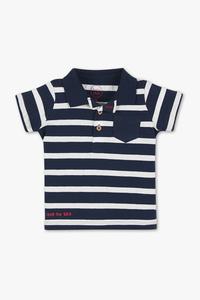 Baby Club         Baby-Poloshirt - gestreift