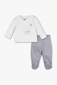Baby Club         Erstlingsoutfit - Bio-Baumwolle - 2 teilig