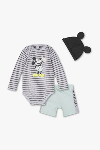 Micky Maus - Baby-Outfit - 3 teilig