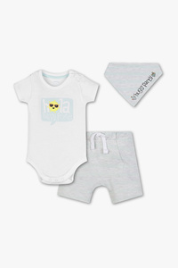 Baby Club         Baby-Outfit - Bio-Baumwolle - 3 teilig