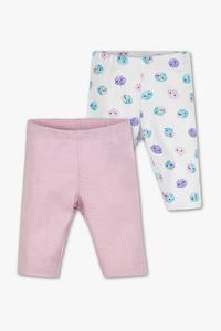 Baby Club         Baby-Capri-Leggings - 2er Pack