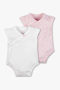 Baby Club         Baby-Body - Bio-Baumwolle - 2er Pack