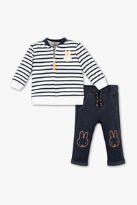 Miffy - Baby-Outfit - 3 teilig