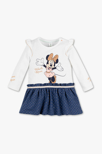 Minnie Maus - Baby-Kleid - 2-in-1 Look - Glanz Effekt