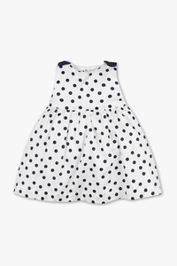 Baby Club         Baby-Kleid - gepunktet