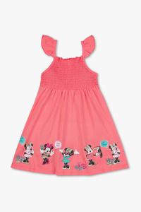 Minnie Maus - Kleid - Bio-Baumwolle - Glanz Effekt